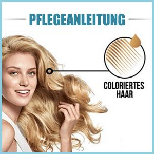 Gefärbte Haare pflegen